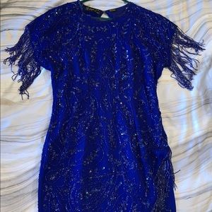 Dresses & Skirts - Vintage Beaded Gatsby Style Dress